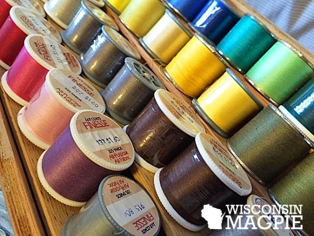 homemade thread case