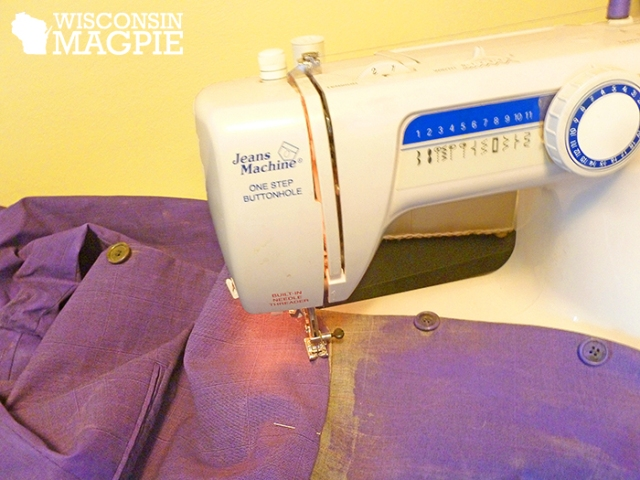 sewing Joker coat