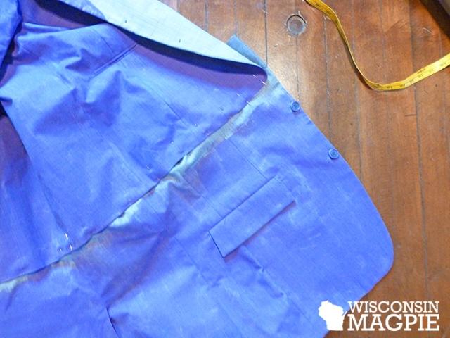 sewing Joker Halloween costume