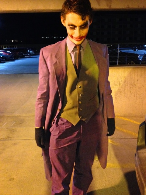finished Joker costume