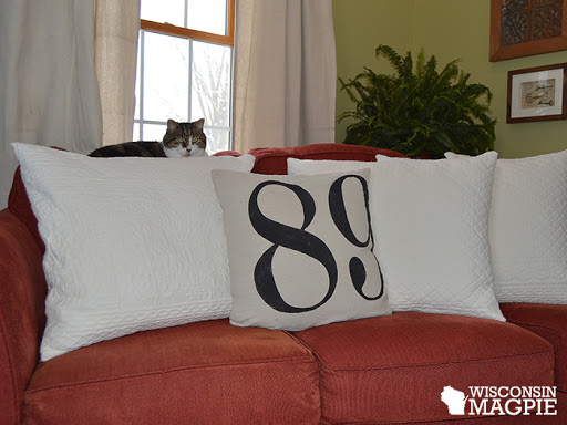 bedspread envelope pillows on couch