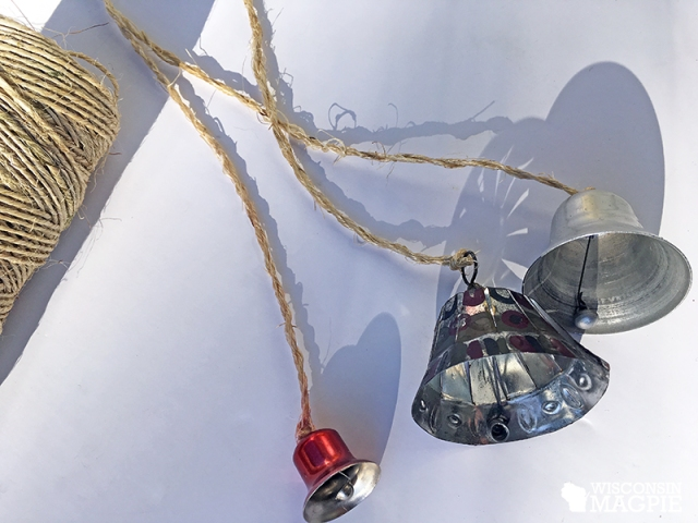 Christmas bell ornaments