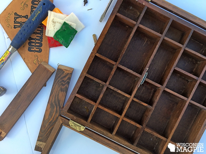 wall-mounted curio cabinet redo